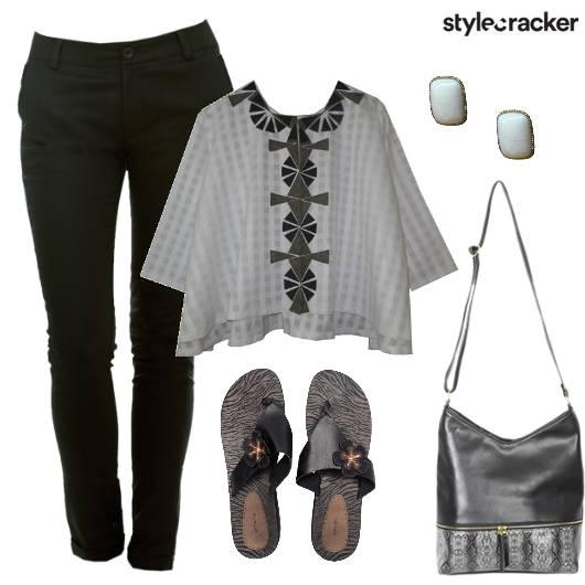 Printed Top Pants Casual Summer - StyleCracker