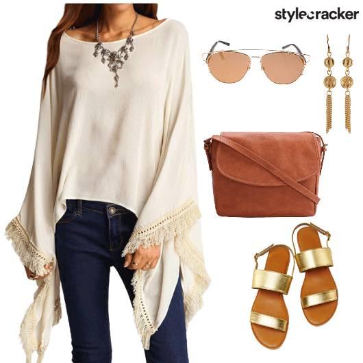 FlaredSleeves Crossbodybag Summer  - StyleCracker