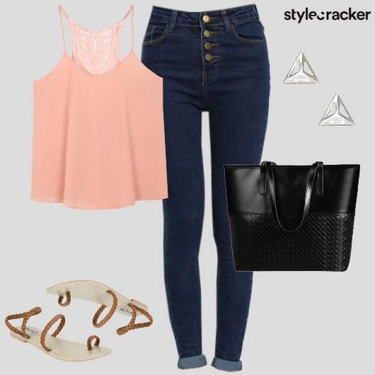 Casual Shopping GirlsDayOut StrappyFlats - StyleCracker