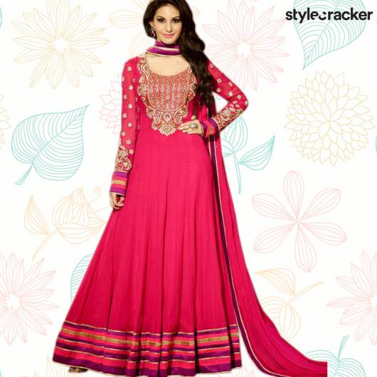 SCLoves Festive Indian Anarkali Suits - StyleCracker