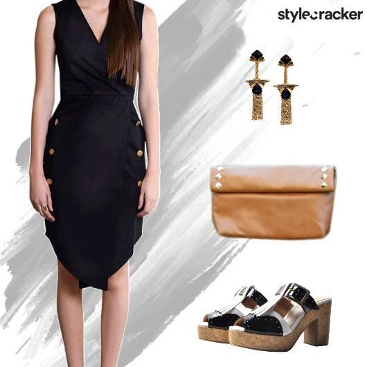 Formal WrapDress Clutch - StyleCracker