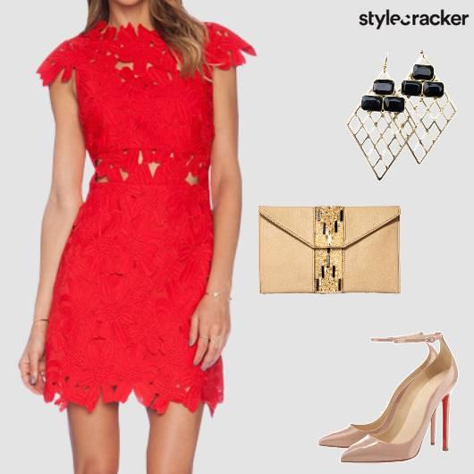 Crochet Dress Party NightOut  - StyleCracker