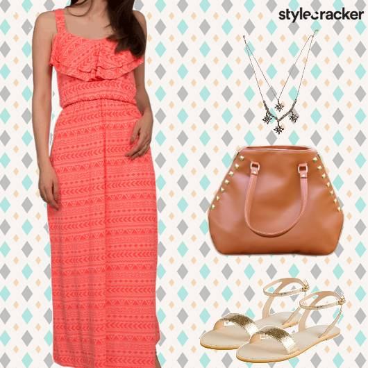 Casual Summer Maxi Dress - StyleCracker