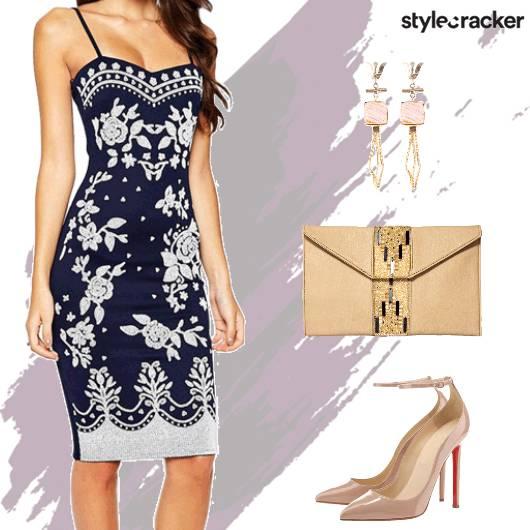 Formal Party Bodycon Dress - StyleCracker
