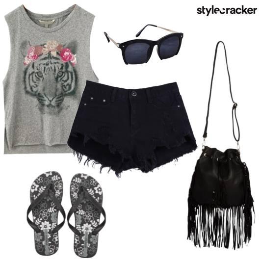 Shorts Basic Tshirt Summer Casual - StyleCracker