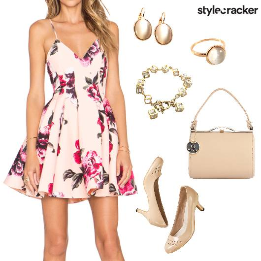 Floral Dress Summer Brunch - StyleCracker