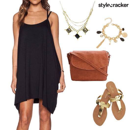 Slip Dress Summer Shopping Casual - StyleCracker
