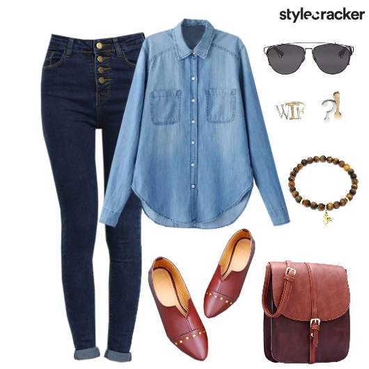 Denim Jeans Shirt Summer Casual - StyleCracker