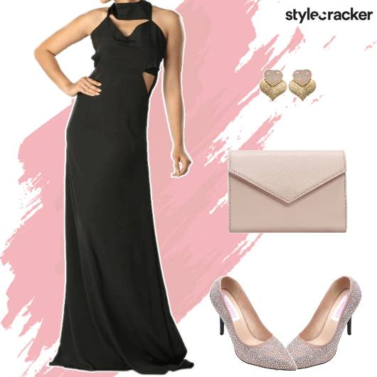 Formal Party Maxi Dress - StyleCracker