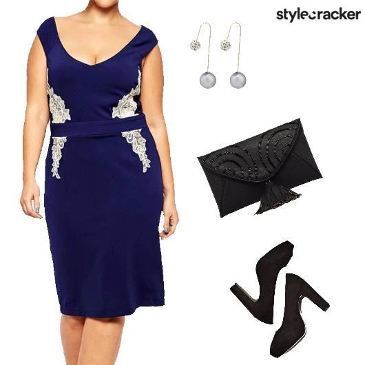 Nightout Party Curvy Cocktail - StyleCracker