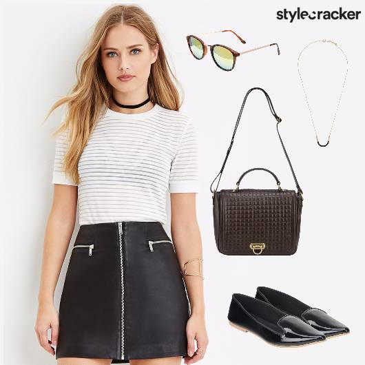 Tshirt Skirt Summer Casual - StyleCracker