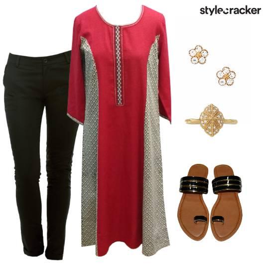Kurta Pants Indian Ethnic Casual - StyleCracker