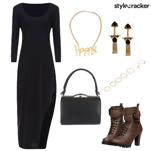 Side Slit Party Night  - StyleCracker