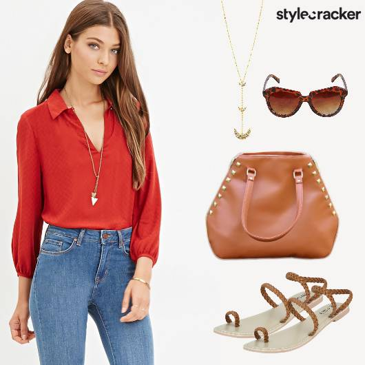 Casual Work Top Denims - StyleCracker