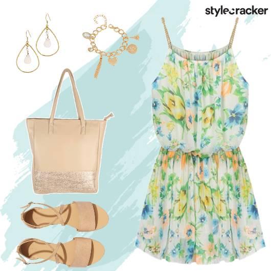 Casual Shopping Summer Dress - StyleCracker