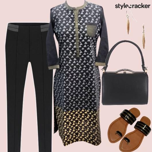 Casual Indian Kurta Handbag Work - StyleCracker