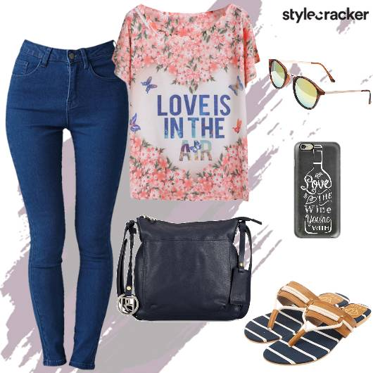 Casual College BasicTee Denims - StyleCracker