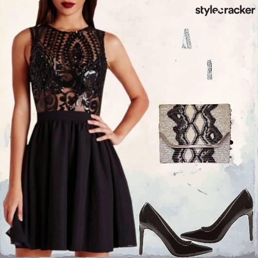 Party Nightout Weekend Dress StatementClutch - StyleCracker