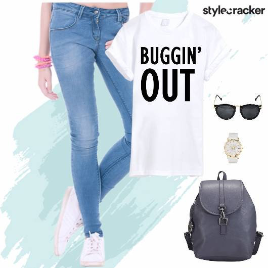 Tshirt BackPack Denims College - StyleCracker