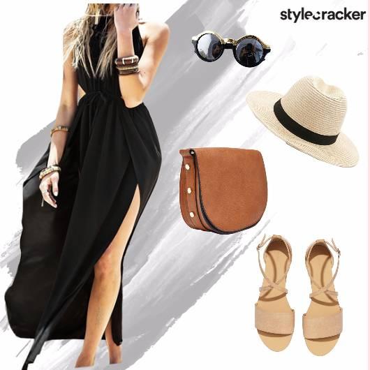 Slit Dress Summer Beach Party - StyleCracker