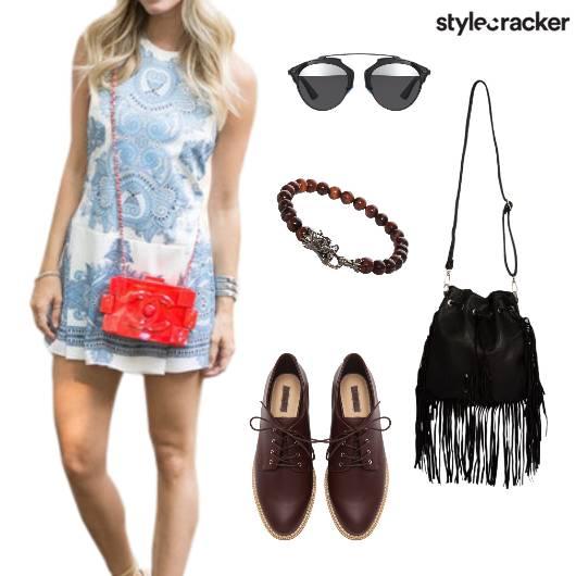Summer Print Dress Shopping Casual - StyleCracker