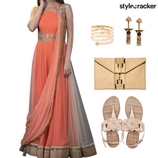 Indian Festive Flats Clutch - StyleCracker