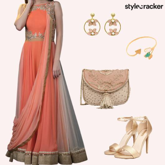 Festive Ethnic Indian Wedding Sangeet - StyleCracker