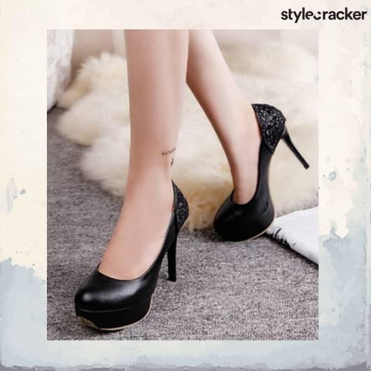 SCLoves Black Heels - StyleCracker