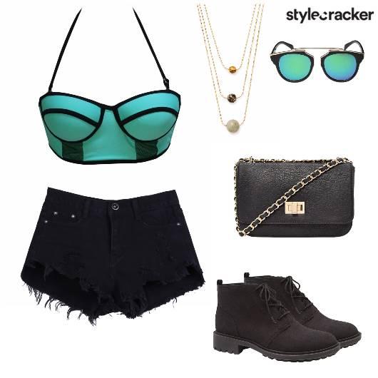 SwimSuit Shorts Summer Concert  - StyleCracker