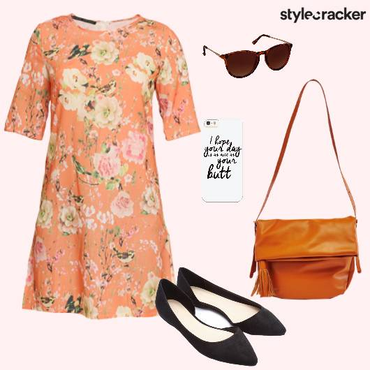 Dress Flats Crossbodybag Casual - StyleCracker