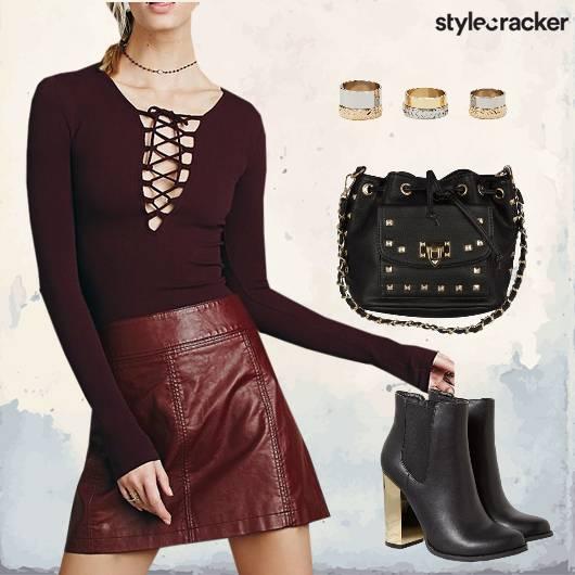 Laceup Top Boots Rockstar  - StyleCracker