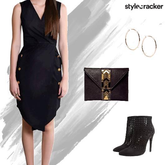 Weekend Party Nightout Dress LBD - StyleCracker