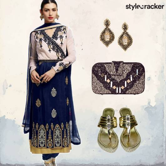 Indian Wedding Anarkali Festive - StyleCracker