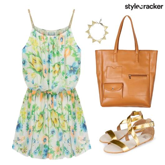 FloralPrint Flats Dress Event - StyleCracker