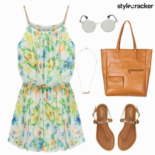 Summer Dress Floral Casual - StyleCracker