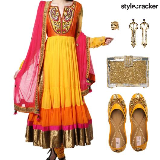 Indian Wedding Reception Ethnic - StyleCracker