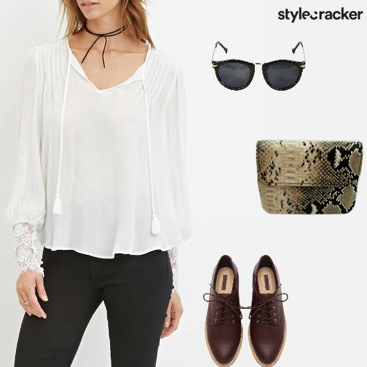 Casual Lunch Shopping Top SlingBag - StyleCracker
