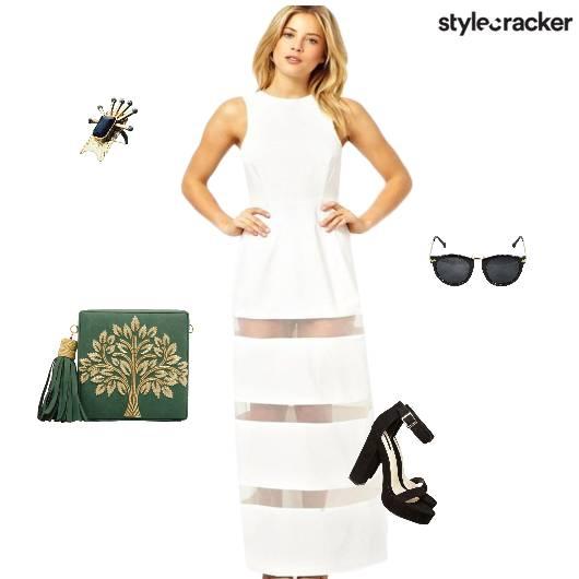 Sheer Maxi Summertime - StyleCracker