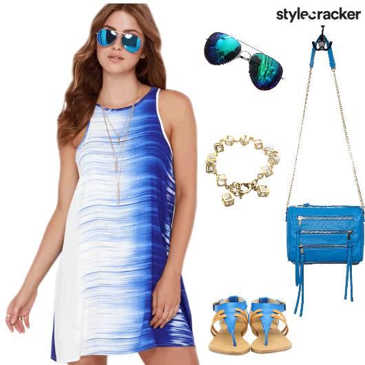 Summer Dress Casual Lunch - StyleCracker