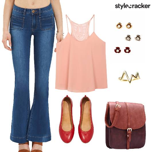 Flared Pants Casual Summer Basics - StyleCracker