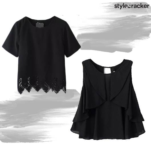 SCLoves Black Tops - StyleCracker