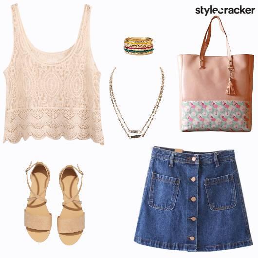 Casual Summer Day Beach Vacation - StyleCracker