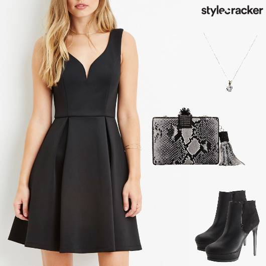 Weekend Party Nightout LBD - StyleCracker