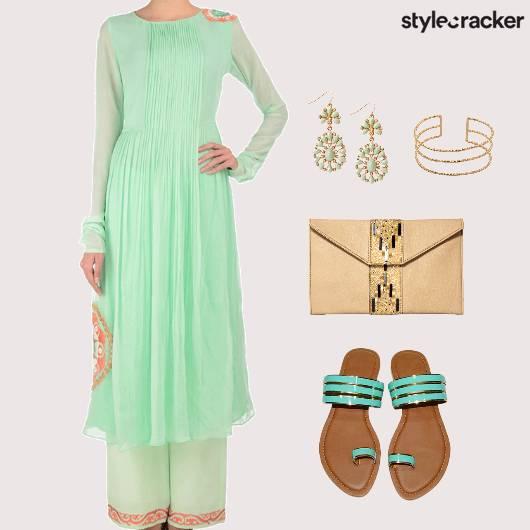 Indian Reception Wedding Ethnic - StyleCracker