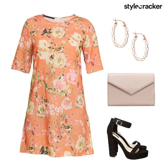Floral Dress Summer Casual  - StyleCracker
