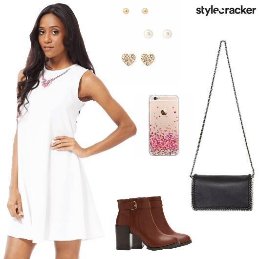 Dress Slingbag Boots Casual - StyleCracker