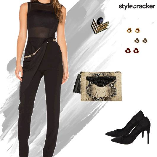 Weekend Party Nightout Jumpsuit - StyleCracker