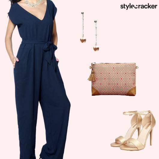Party Formal Event Jumpsuit - StyleCracker