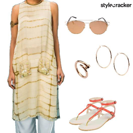TieAndDye Kurta Indian Ethnic Holi - StyleCracker