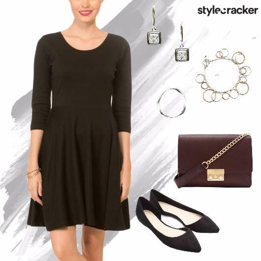 Skater Dress Summer Casual  Lunch  - StyleCracker